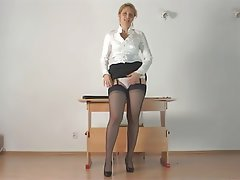 MILF Old and Young POV Softcore Stockings