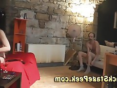 Amateur Casting Czech Old and Young Teen