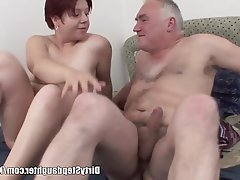 Big Boobs Blowjob Old and Young Redhead Teen