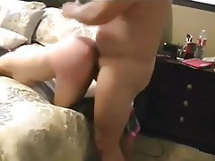 BDSM Blowjob Old and Young Spanking