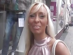Blonde German MILF POV