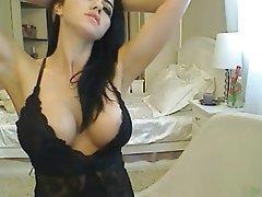 Babe Big Boobs Brunette Webcam
