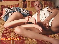 Anal Cumshot Foot Fetish Old and Young