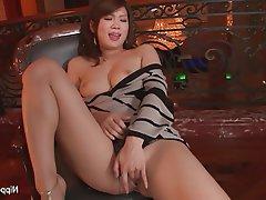 Asian Babe Brunette Japanese Masturbation