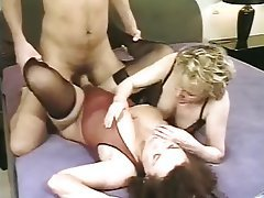 Cum in mouth Hardcore Lingerie Old and Young Threesome