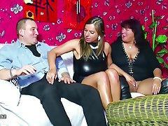 Big Boobs German Hardcore Teen Threesome