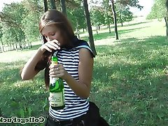 Babe Blowjob Coed Gorgeous Outdoor
