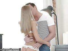Blonde Blowjob Small Tits Teen Pussy