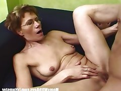 Old Granny And Milf Cock