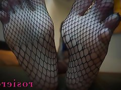Foot Fetish Mistress POV Stockings
