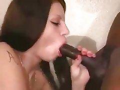 Anal Big Cock Brunette Homemade Interracial