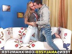 Anal Blowjob Masturbation Small Tits Teen