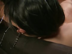Teen MILF Lesbian Brunette Latex