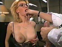 Anal Babe Blonde Close Up Cumshot
