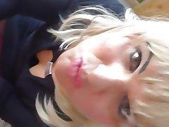 Amateur Blonde Blowjob Handjob French