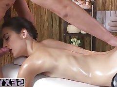Babe Handjob Massage Small Tits Fucking