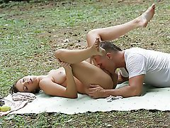 Anal Babe Outdoor