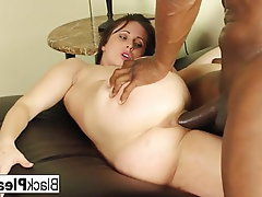 Brunette Hardcore Pornstar Interracial Big Cock