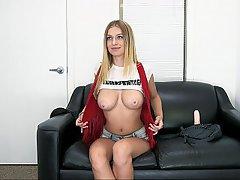 Boobs Blonde Backroom Teen Big Tits