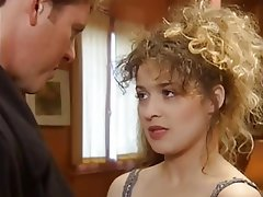 French porn vintage video, young girl sucks many cocks