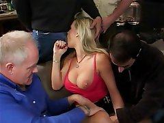 Anal Blowjob Double Penetration Facial Threesome