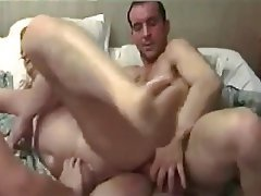 Fat ladys first time mmf threesome
