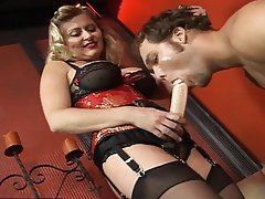 Huge boob massage