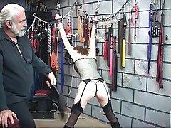 BDSM Brunette Lingerie Pantyhose Mature