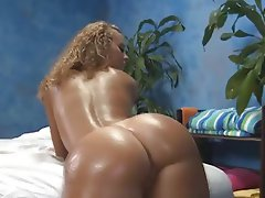 Babe Blonde Hardcore Massage