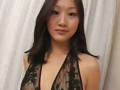 Soapy massage from erotic asian milf in the bathroom