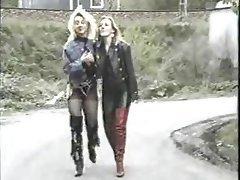 German Group Sex Latex Vintage