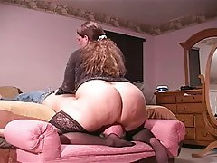 Gets Ass Licked Bbw