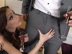 Anal Babe Blowjob Cumshot Stockings