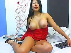 Amateur Big Boobs Masturbation Webcam