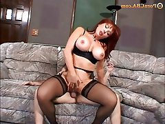 Gangbang Hardcore Old and Young Redhead Stockings