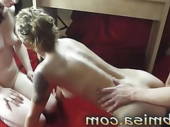 Amateur Blowjob MILF Threesome