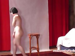 Amateur Brunette Casting Czech Teen
