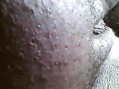 Amateur BBW Close Up Creampie