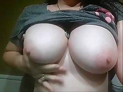 Amateur Babe Big Boobs Cumshot