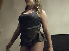 BDSM Big Boobs Cheerleader Facial