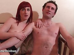 Amateur Anal Casting French Redhead