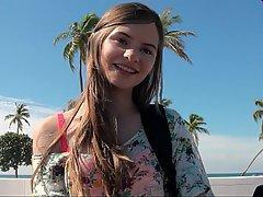 Brunette Teen Cute Hardcore